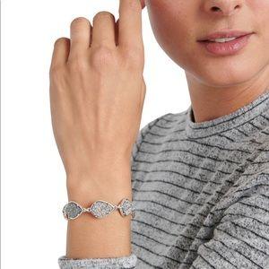 Lucky Brand Diamond Druzy Flex Bracelet